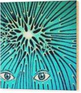Confluence Wood Print by Paulo Zerbato