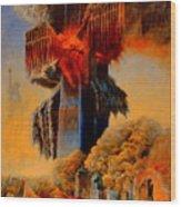 Cross Of The Third Millennium Wood Print by Henryk Gorecki