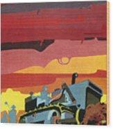 Cuban Poster, 1960s Wood Print by Granger
