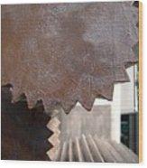 Cylindrical Gears Wood Print by Yali Shi