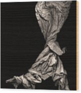 Dancer Two Wood Print by Peter Cutler