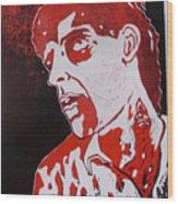Dawn Of The Dead Print 1 Wood Print by Sam Hane