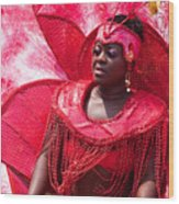 Dc Caribbean Carnival No 18 Wood Print by Irene Abdou