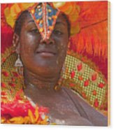 Dc Caribbean Carnival No 24 Wood Print by Irene Abdou