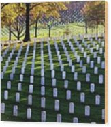 Debt Of Gratitude Wood Print by Mitch Cat