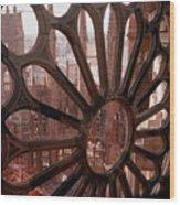 Detail Of La Sagrada Familia, Barcelona, Spain Wood Print by Tobias Titz