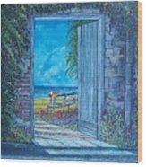 Doorway To ... Wood Print by Sinisa Saratlic