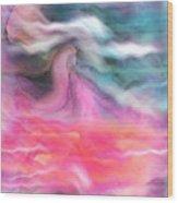Dreamscapes Wood Print by Linda Sannuti