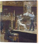 Eakins: Between Rounds Wood Print by Granger