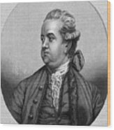 Edward Gibbon, English Historian Wood Print by Middle Temple Library