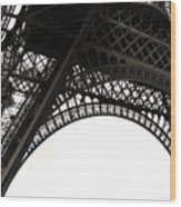 Eiffel Tower Wood Print by Fion Ngan @ fill in my blanks