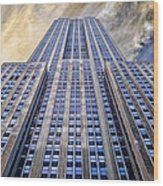 Empire State Building  Wood Print by John Farnan