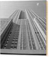 Empire State Building Wood Print by Mike McGlothlen