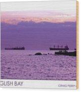 English Bay Wood Print by Craig Perry-Ollila