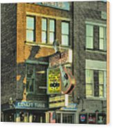 Ernest Tubbs Record Store Wood Print by Steven Ainsworth