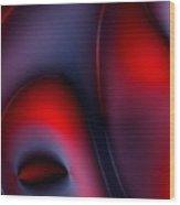 Erotic Art Wood Print by Steve K