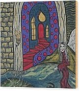 Eternal Peace And Happiness Wood Print by Deidre Firestone