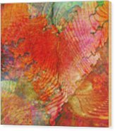 Exhilaration Wood Print by Barbara Berney