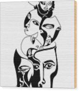 Exposure Wood Print by Roy Guzman