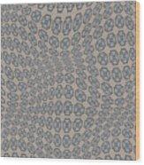 Fabric Design 12 Wood Print by Karen Musick