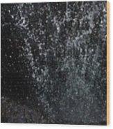 Falling Cavern Cascade Watkins Glen Wood Print by InTheSane DotCom