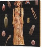 Fashion Jewellery  Wood Print by Eric Kempson