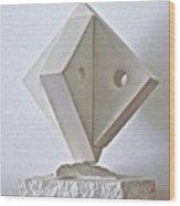 Fifth Chakra Swastika  Wood Print by Frank Pasquill