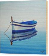 Fishing Boat II Wood Print by Horacio Cardozo