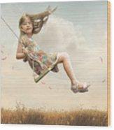 Flying Wood Print by Joel Payne