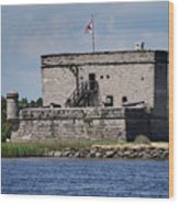 Fort Matanzas Wood Print by Skip Willits