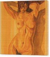 Francesca Wood Print by Dan Earle