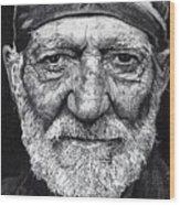 Free Willie Wood Print by Jeff Ridlen