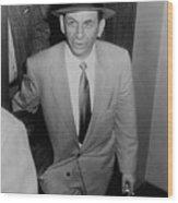 Gambling Boss Meyer Lansky 1902-1983 Wood Print by Everett