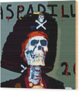 Gasparilla 2011 Work Number Two Wood Print by David Lee Thompson
