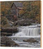 Glade Creek Mill 2011 Wood Print by Wade Aiken