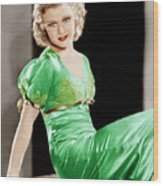 Gold Diggers Of 1933, Ginger Rogers Wood Print by Everett