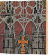 Gothic Church 2 Wood Print by Scott Hovind