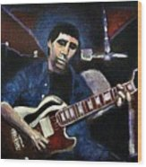 Graceland Tribute To Paul Simon Wood Print by Seth Weaver