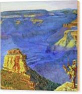 Grand Canyon V Wood Print by Stan Hamilton