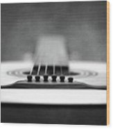 Guitar Wood Print by L. Shaefer