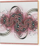 Hadron Collider Wood Print by David April