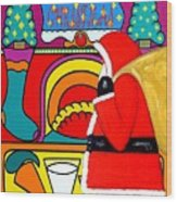 Happy Christmas 30 Wood Print by Patrick J Murphy
