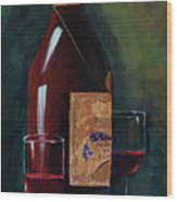 Happy Hour  Wood Print by Mary DuCharme
