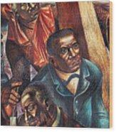 Harriet Tubman, Booker Washington Wood Print by Photo Researchers