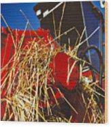 Harvesting Wood Print by Meirion Matthias
