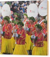 Hawaii All-state Marching Band I Wood Print by Clarence Holmes