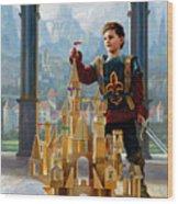 Heir To The Kingdom Wood Print by Greg Olsen