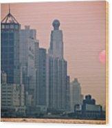 Hong Kong Island Wood Print by Ray Laskowitz - Printscapes