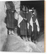 Hopi Maidens, 1906 Wood Print by Granger