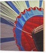 Hot Air Balloon - 1 Wood Print by Randy Muir